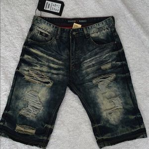 NWT men's jean shorts